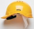 Ochranná přilba PROTECTOR STYLE 300 plastový hlavový kříž ventilovaná žlutá