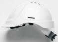 Přilba PROTECTOR STYLE 635 ventilovaná upínání račnou bílá