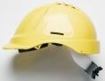 Přilba PROTECTOR STYLE 635 ventilovaná upínání račnou žlutá