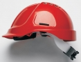 Přilba PROTECTOR STYLE 635 ventilovaná upínání novou račnou červená
