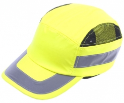 Čepice se skořepinou PROTECTOR FBC+HC22HV žlutá
