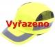 Čepice se skořepinou FBC+HC22HV zkrácený štítek žlutá