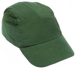 Náhradní potah na čepici se skořepinou FBC+HC22 standardní délka kšiltu tmavě zelená