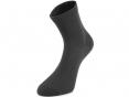 Ponožky tenké 100% bavlna černé velikost 42