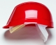 Přilba PROTECTOR BUMPMASTER 4 bodový látkový kříž červená