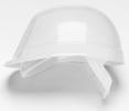 Přilba PROTECTOR BUMPMASTER 4 bodový plastový kříž  bílá