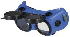 Brýle B-V 24  modré svářečské odklápěcí