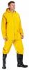 Oblek HYDRA PVC/polyester kalhoty pas blůza s kapucí žlutý velikost L