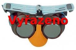 Brýle B-B 39 gumička infrazor modré