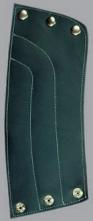 Chránič předloktí kůže/filc druky 15 cm