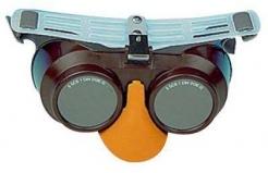 Brýle B-B 39 gumička šedé svářečské zorníky