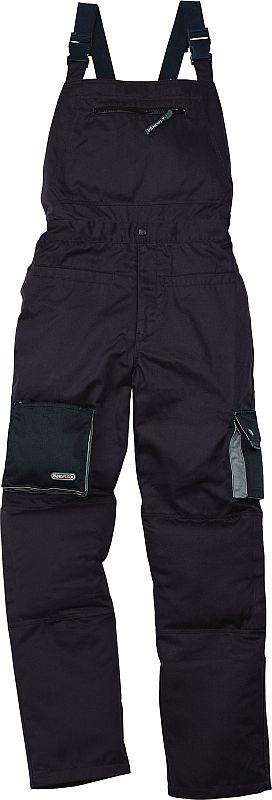 Montérkové kalhoty MACH 2 s laclem černé velikost XXL