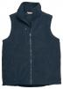 Vesta ARAN fleece rovná se zapínáním na zip tmavě modrá velikost L