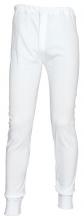 Spodky Thermo silné příjemný materiál bílé velikost XL