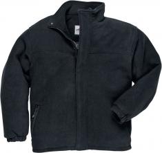 Mikina YUKON fleece prošívaná zateplená černá velikost L