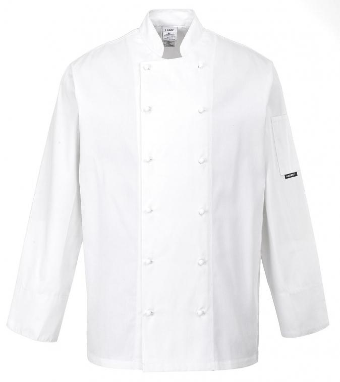 Rondon CARDIFF CHEFS kuchařský jednořadý velikost L