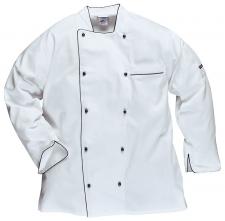 Rondon EXECUTIVE CHEFS kuchařský dvouřadý dlouhý rukáv bílý velikost XL