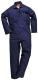 Kombinéza SAFE WELDER svářečská elastická záda středně modrá velikost L