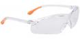 Brýle BREEZE rám transparentní modré straničky filtr UV400 čiré