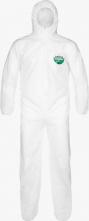 Kombinéza SafeGuard 76 jednorázová kapuce bílá velikost XL