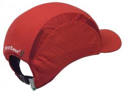 Čepice se skořepinou PROTECTOR FB3 zkrácený štítek červená