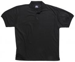 Polokošile Naples krátký rukáv černá velikost XL