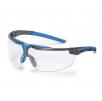 Brýle UVEX i-3 straničky černo/olivové odolné poškrábání čiré