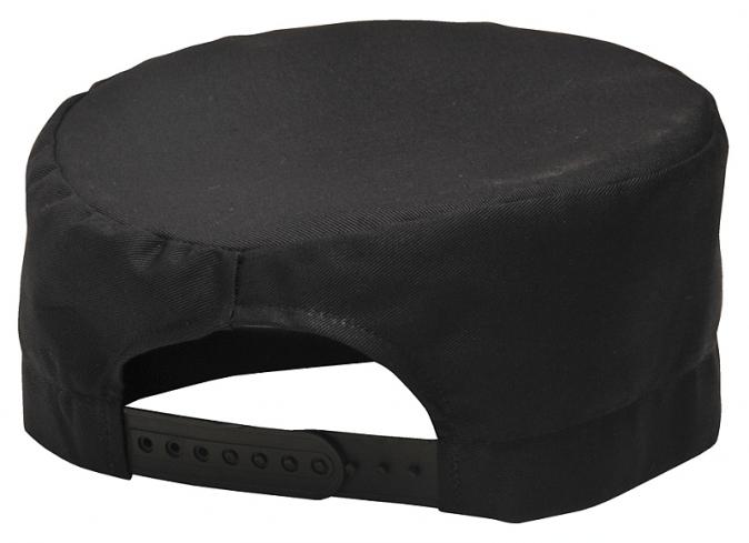 Čepice CHEFS Skull kuchařská PES/BA stahování černá