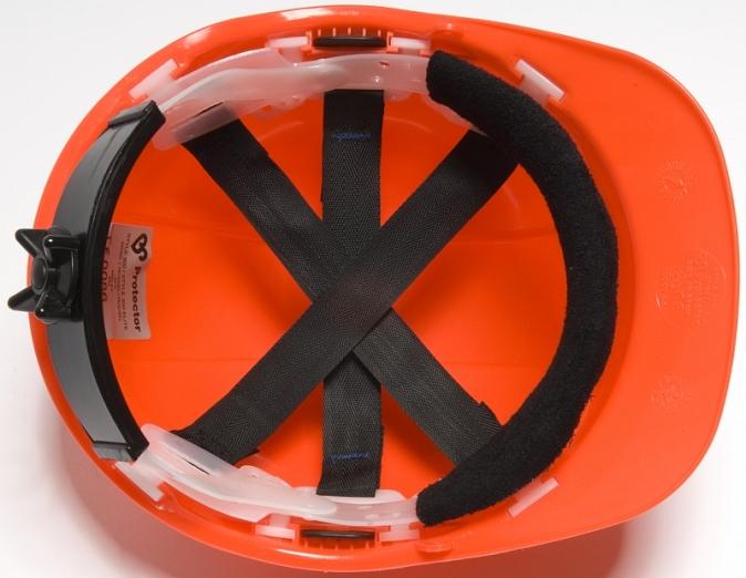 Hlavový kříž do přilby PROTECTOR STYLE 315 s plynulým nastavením račnou