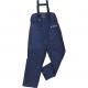 Kalhoty AUSTRAL chladírenské se zvýšeným pasem modré velikost L