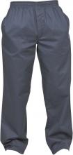 Kalhoty TRACK prodyšné mikrovlákno/PVC tmavě modré velikost XL