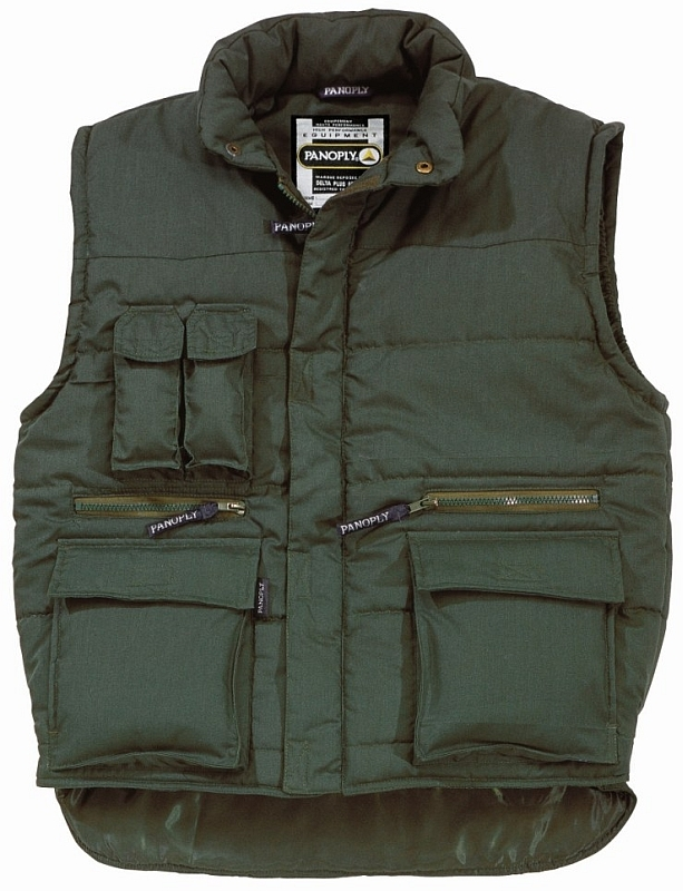 Vesta SIERRA s kapsami zateplená tmavě zelená velikost XXL