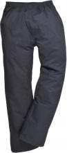 Kalhoty AYR prodyšné mikrovlákno potažené PVC modré velikost XL