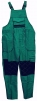 Montérkové kalhoty OC lacl zeleno/černé velikost 58