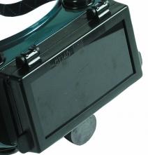 Sklo svářecí do brýlí 1140 SE zatmavené zelené stupeň 6