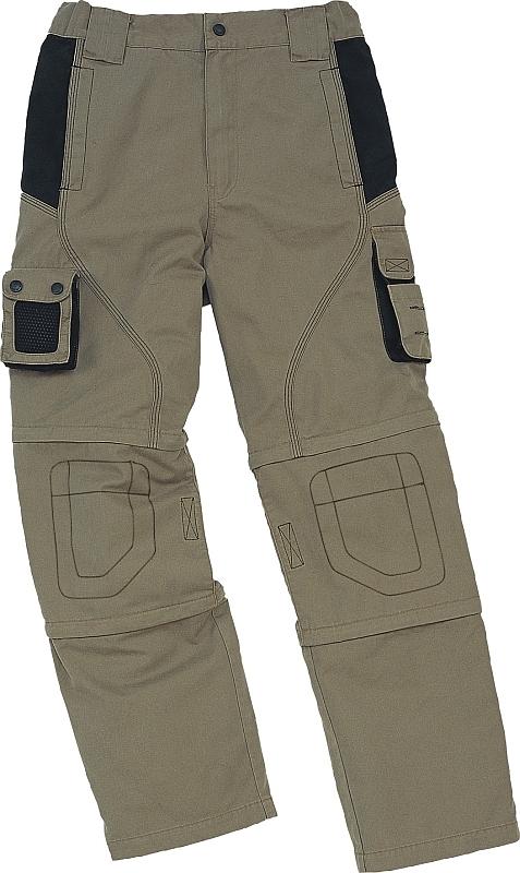 Montérkové kalhoty MACH SPRING 3v1 pas khaki velikost XL
