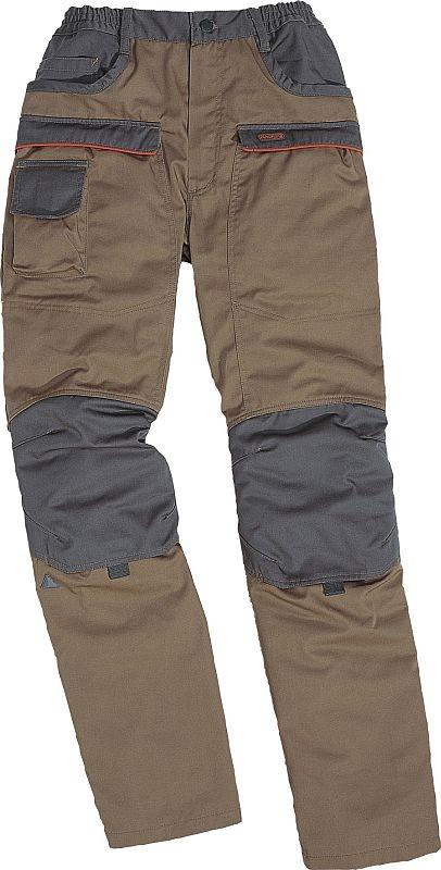 Kalhoty MACH CORPORATE do pasu béžovo/šedé velikost XXL