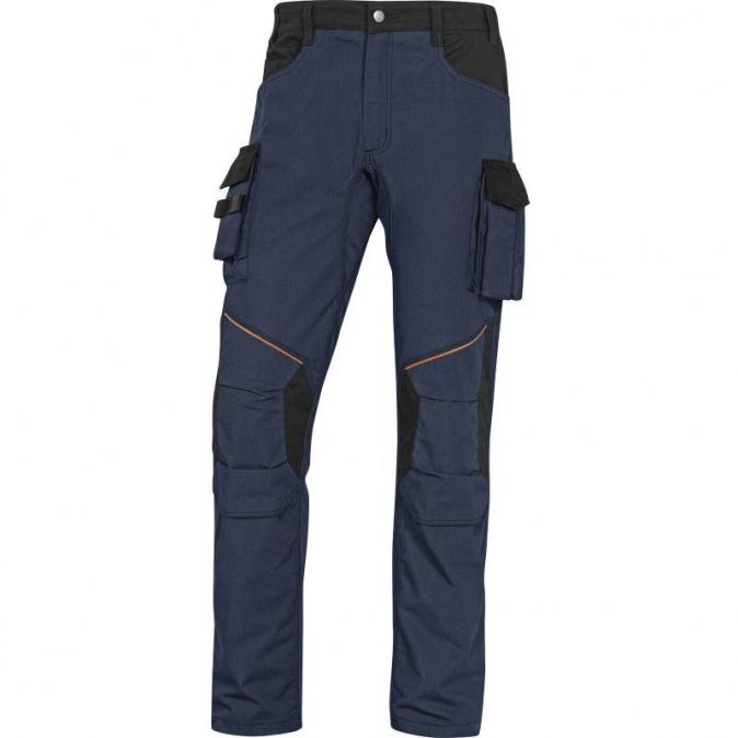Kalhoty MACH CORPORATE do pasu modro/černé velikost L