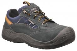 Obuv Steelite™ Hiker S1P polobotka semiš/textil šedá velikost 40