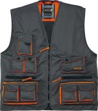 Vesta MACH 2 lehká 13 kapes šedo/oranžová velikost XL