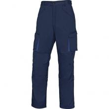 Montérkové kalhoty MACH 2 do pasu tmavě modrá/světle modrá velikost XXXL