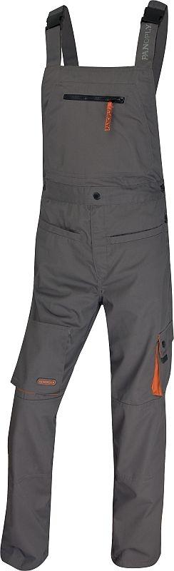 Montérkové kalhoty s laclem MACH 2 šedé velikost M