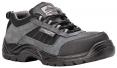 Obuv Compositelite Trekker S1 polobotka semišová šedo/černá velikost 48
