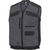 Pracovní vesta MACH 5 SPIRIT nové provedení s kapsami šedá/černá velikost XXL