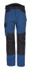 Montérkové kalhoty CORD odololný PES pas modré