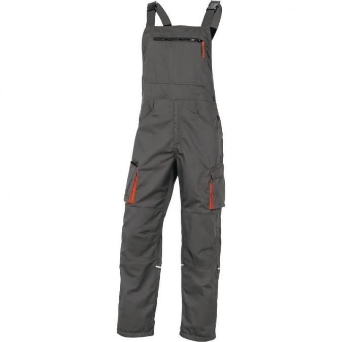 Montérkové kalhoty MACH CORPORATE laclové béžovo/šedé velikost L