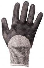 Rukavice CUTSAFE proti prořezu materiál HPPE skelná vlákna nitrilová pěna  šedé velikost M 13ea612d0a
