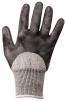 Rukavice CUTSAFE proti prořezu materiál HPPE/skelná vlákna/nitrilová pěna šedé velikost M