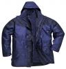 Bunda AVIEMORE 3v1 voděodolná s odepínací vložkou tmavě modro/černá velikost L