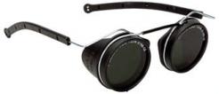 Brýle CLI drátěné svářečské nárazuvzdorné zorníky tmavost 5